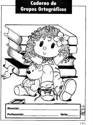 Capa De Caderno Mundinho Da Criança Atividades Para