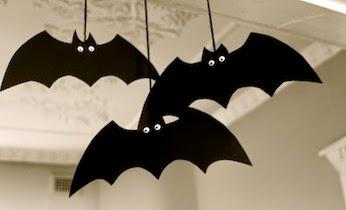 Morcegos Para Decorar A Sala No Dia Das Bruxas Moldes Mundinho