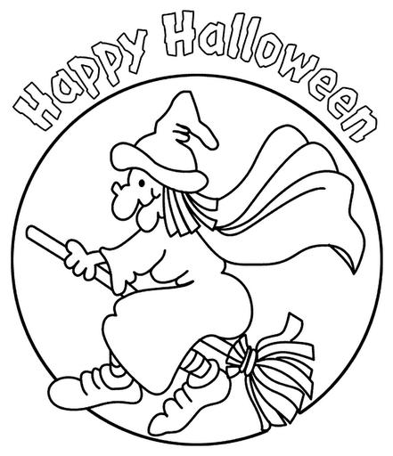 Desenhos De Bruxas Para Imprimir E Colorir Dia Das Bruxas
