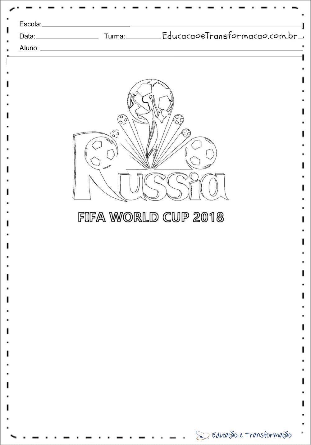 Atividades Copa Do Mundo 2018 Para Educacao Infantil Mundinho Da