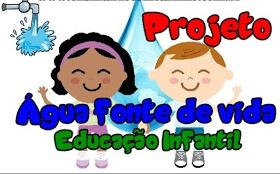 Projeto Sobre A Agua Para Educacao Infantil Mundinho Da Crianca