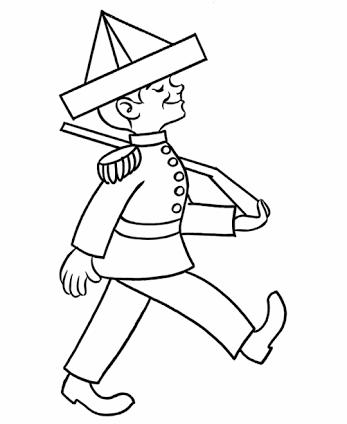 história do soldadinho de chumbo desenhos para colorir mundinho