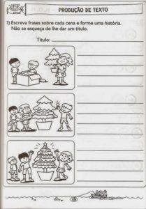 Atividades Escolares Sobre O Natal Mundinho Da Crianca